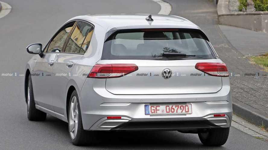 Volkswagen Golf GTE 2020, fotos espía