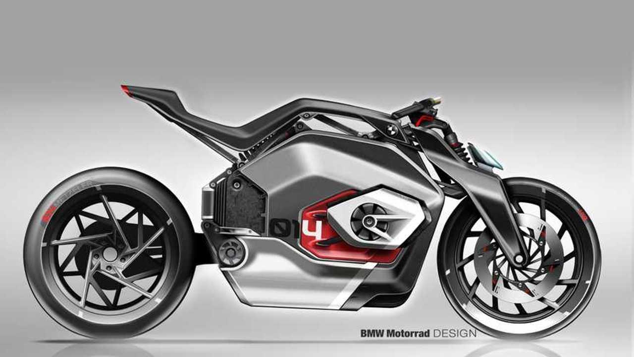 BMW, brevetti per una moto elettrica
