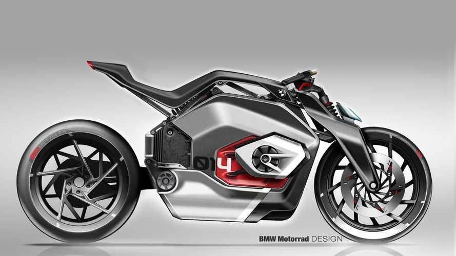 BMW al lavoro su una moto elettrica sportiva