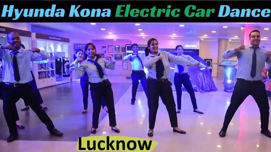 Watch This Dealer's Dancing Debut For Hyundai Kona Electric in India