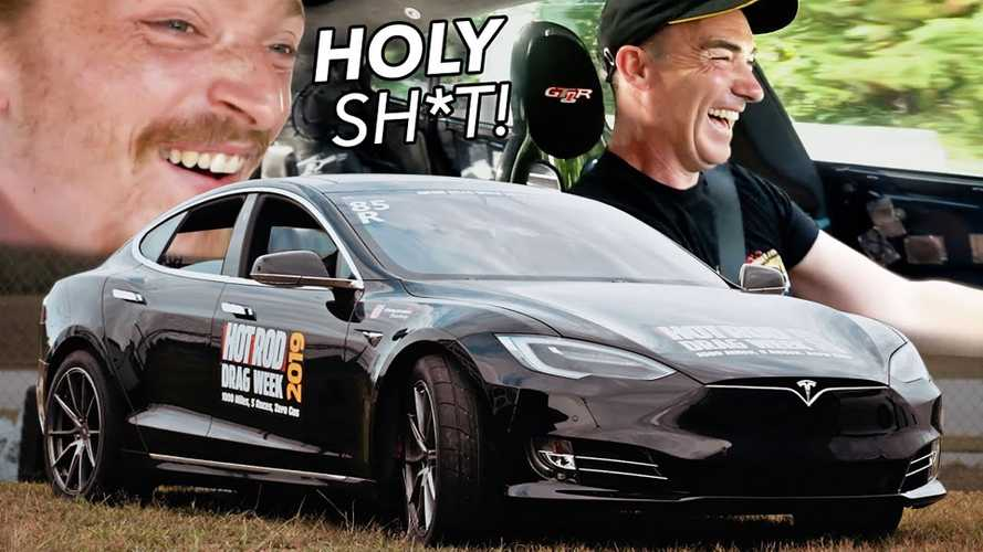 Ride Along In The World's Quickest Tesla