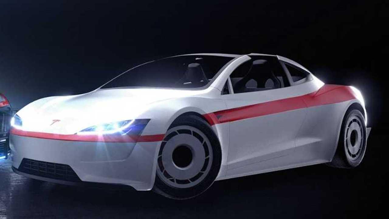 Tesla Roadster A-Team