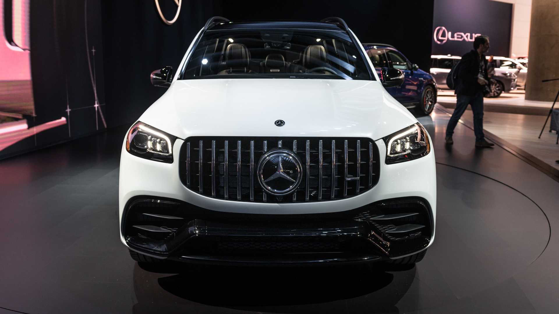 2021 Mercedes-AMG GLS 63 Live in LA