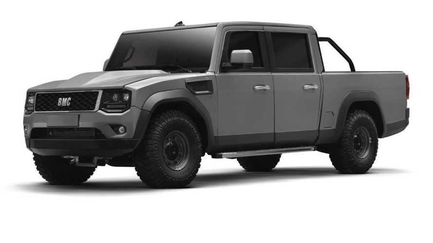 BMC'nin yeni pickup modeli görücüye çıktı