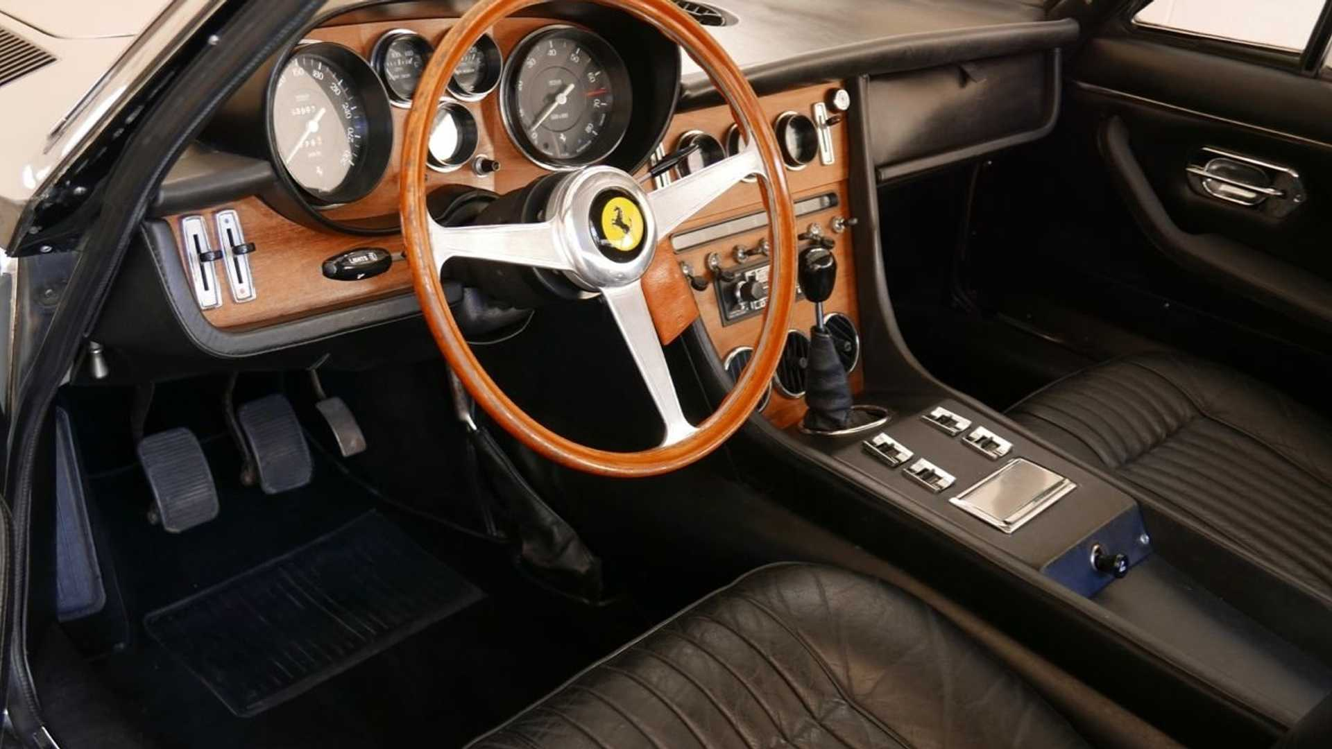"""[""""Power And Luxury Await In This 1968 Ferrari 365 GT 2+2 Coupe""""]"""
