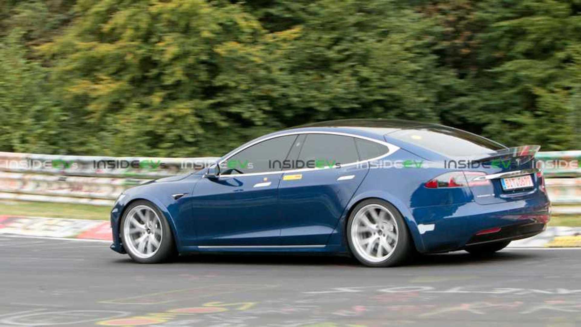 Watch Tesla Model S Plaid Take On The Nurburgring: Video