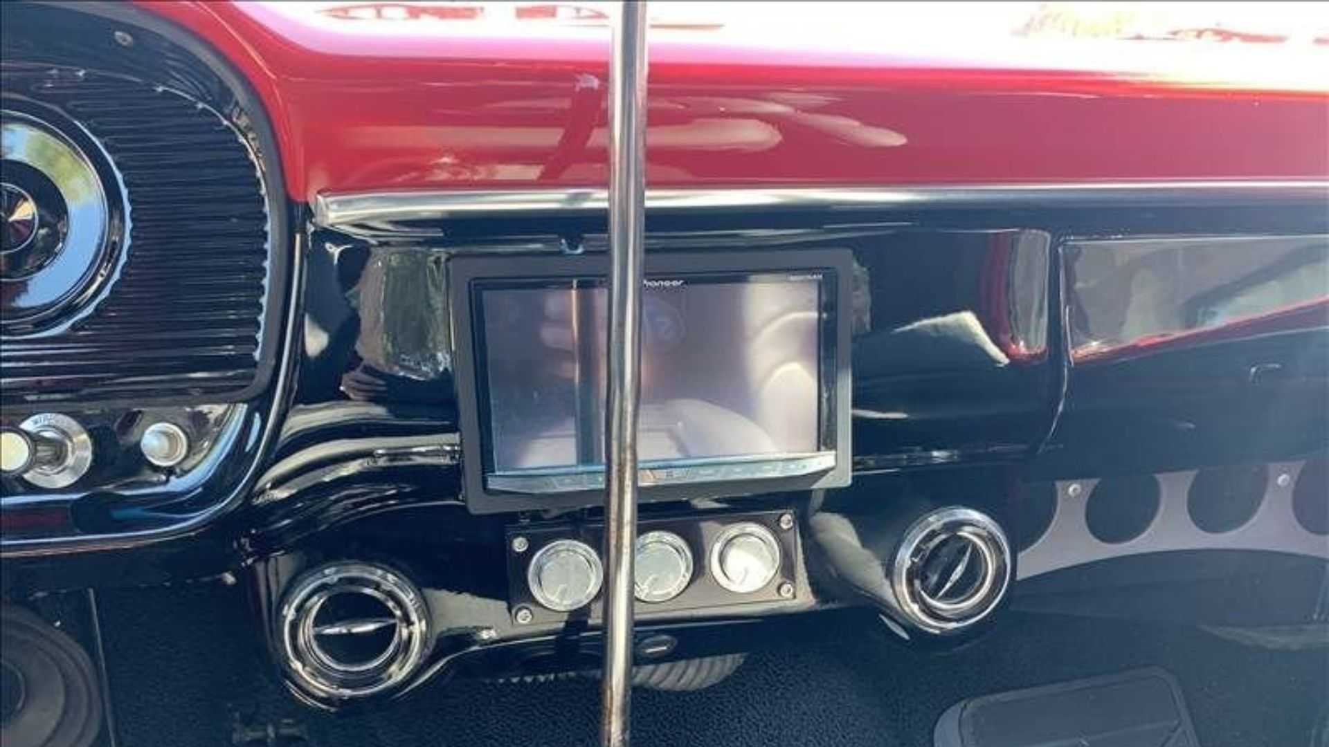 "[""Roll Through In A Highly Customized 1966 Ford F100""]"