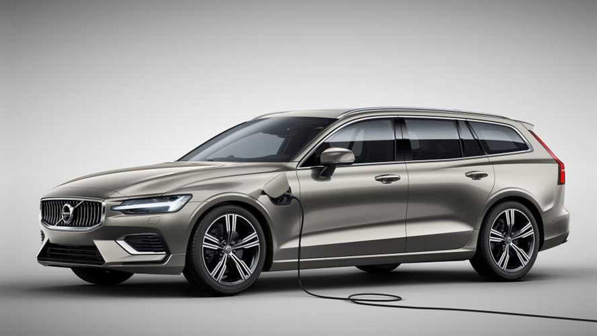Volvo V60 T6 Twin Engine Awd Zweiter Plug In Hybrid Fur Den Kombi