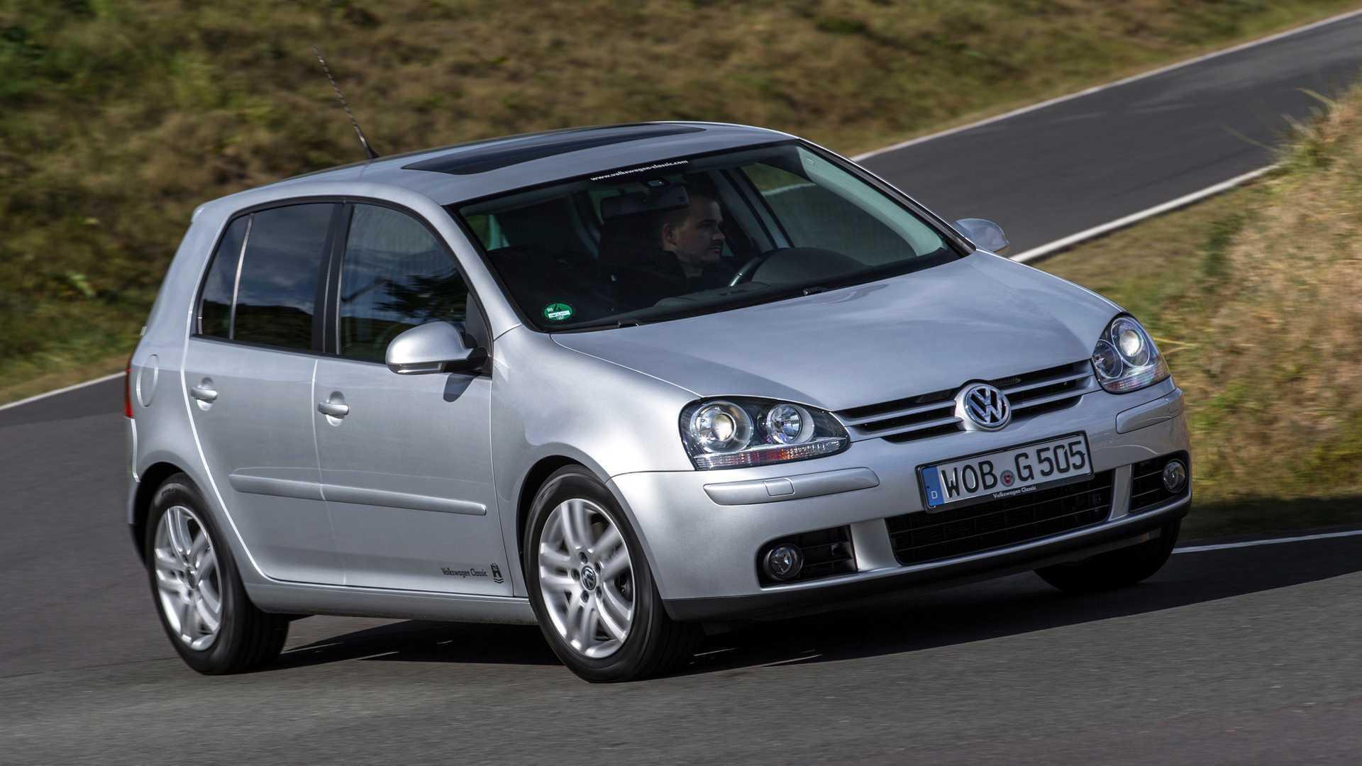VW Golf im Rückblick: Der Golf V (2003 - 2008)