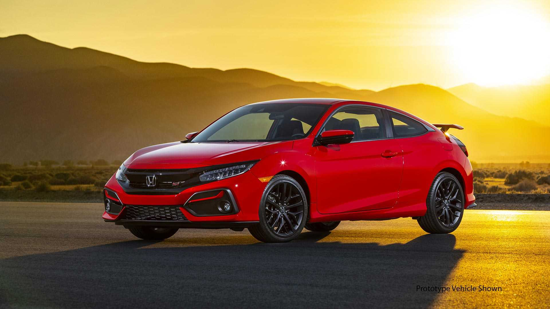 2020 Honda Civic Si Debuts WIth Fresh Face, Quicker ...