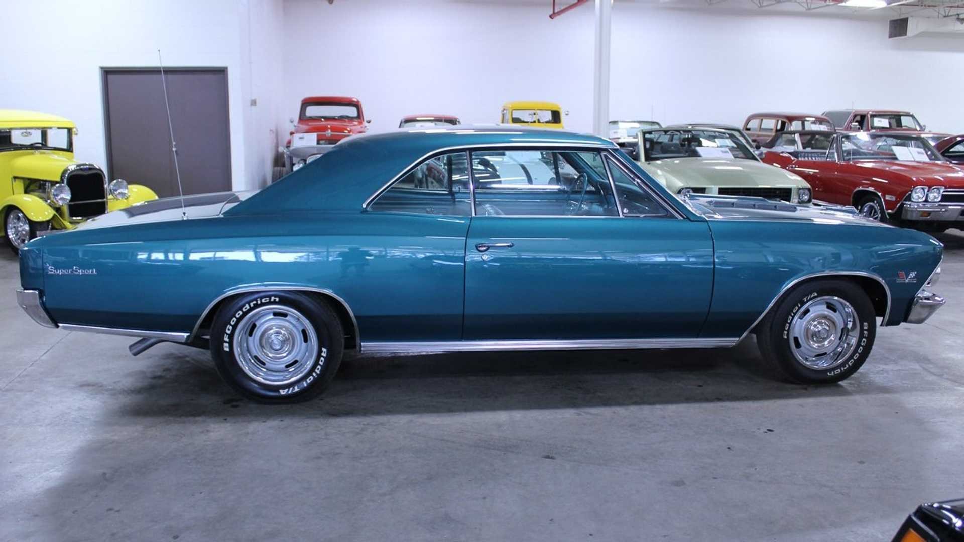 """[""""1969 Chevrolet Chevelle SS 396 Is A True Tropic Paradise""""]"""
