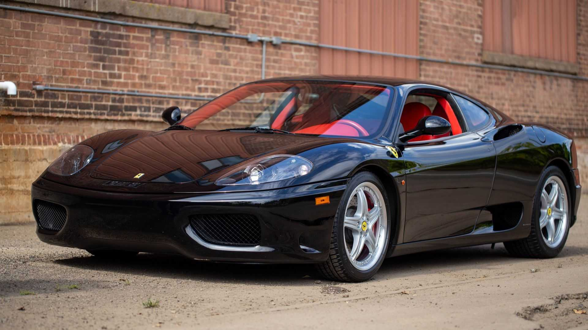"[""Rock This Gated Manual 2004 Ferrari 360 Modena""]"