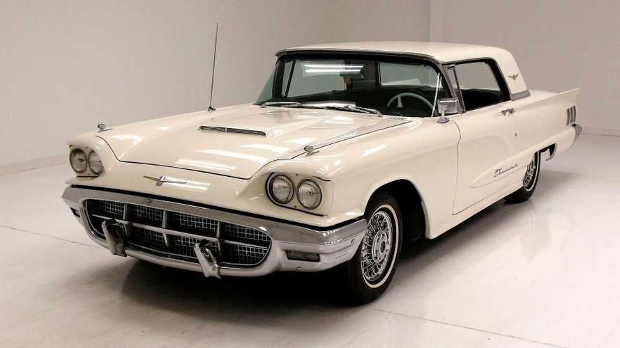 Get Your Hands On This Spotless 1960 Ford Thunderbird