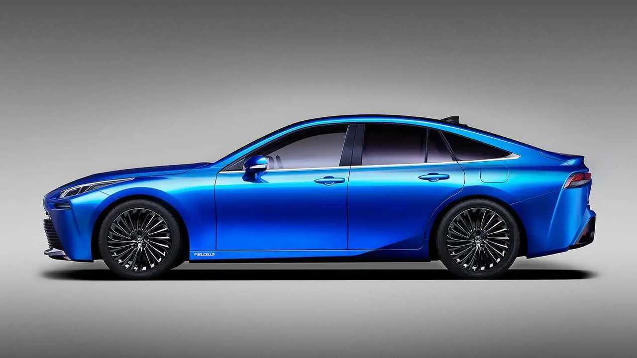 2020 - [Toyota] Mirai II 2021-toyota-mirai-concept