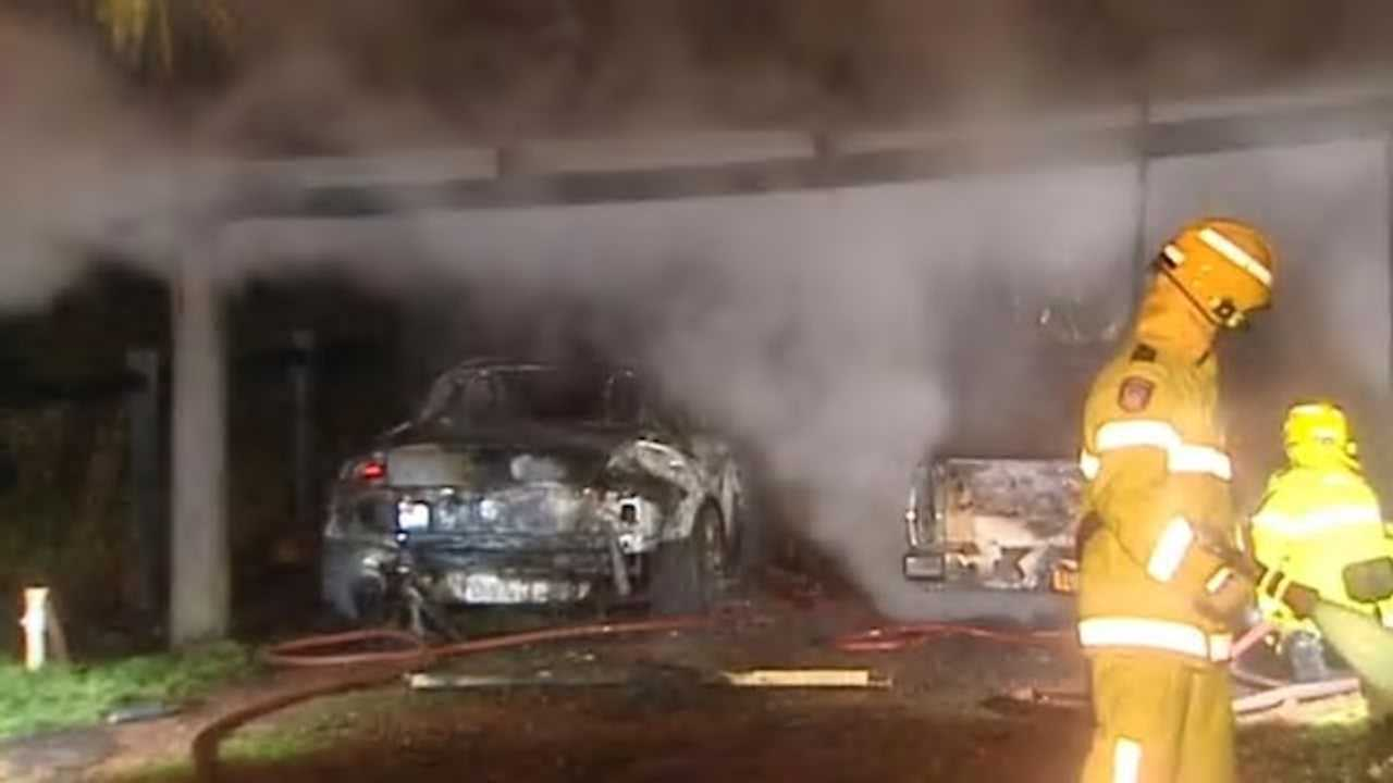 Expensive Car Collection Suspiciously Goes Up In Flames