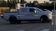 2021 Ford F-150 spied by Motor1.com reader