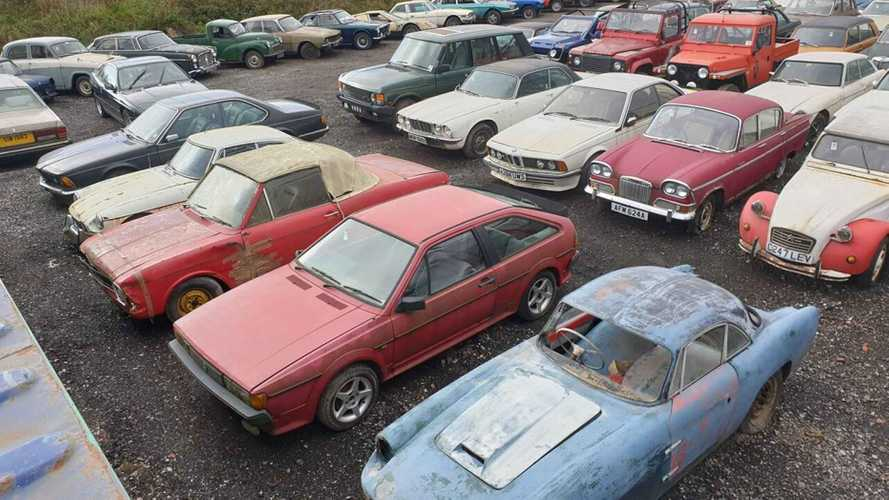 Massive Barn Find Collection Of 135 Vintage Vehicles Auctioned Off