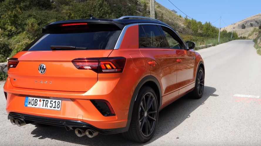 VW T-Roc R'ın hızlanma videosunu izleyin