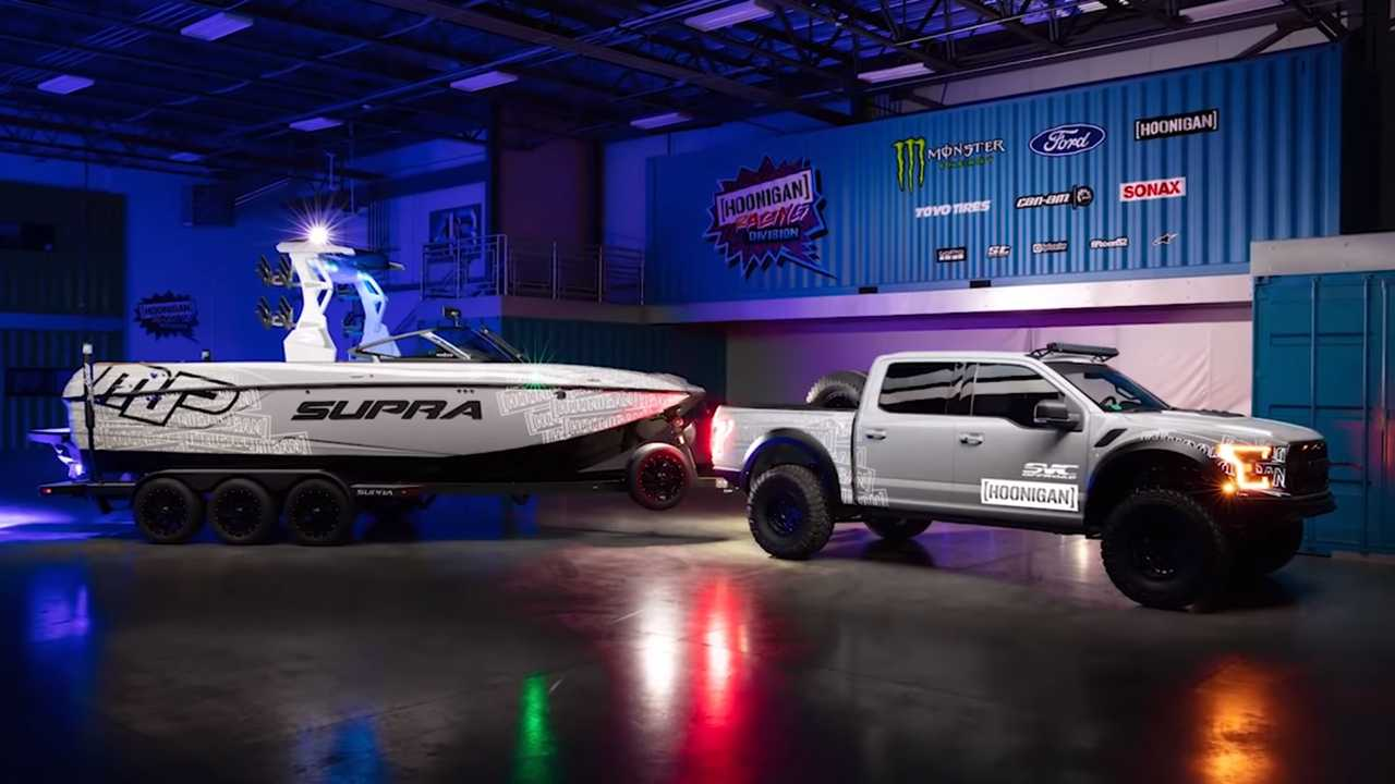 New Ford Raptor >> Video Of Ken Block's Ford Raptor-Powered Supra Is Not What You Think