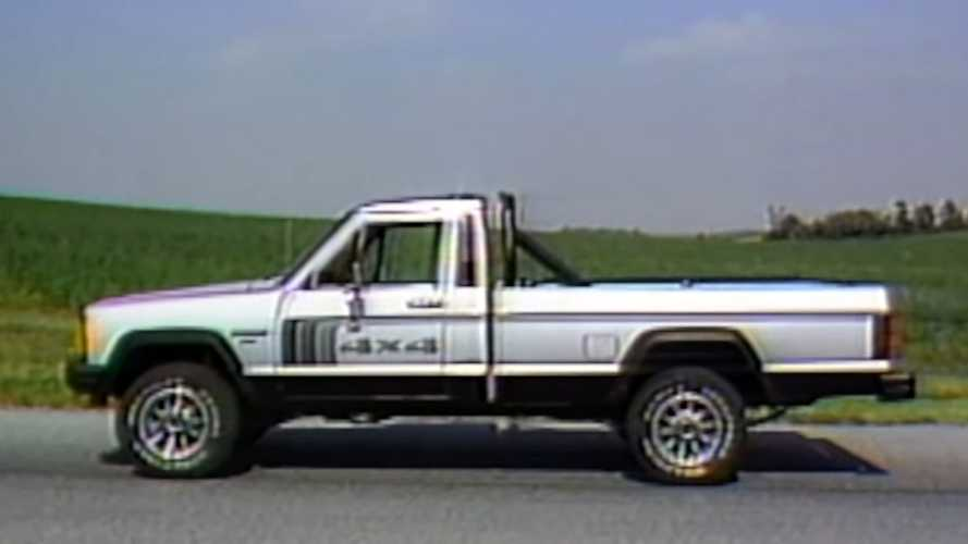 Watch This Retro Review Of The 1986 Jeep Comanche