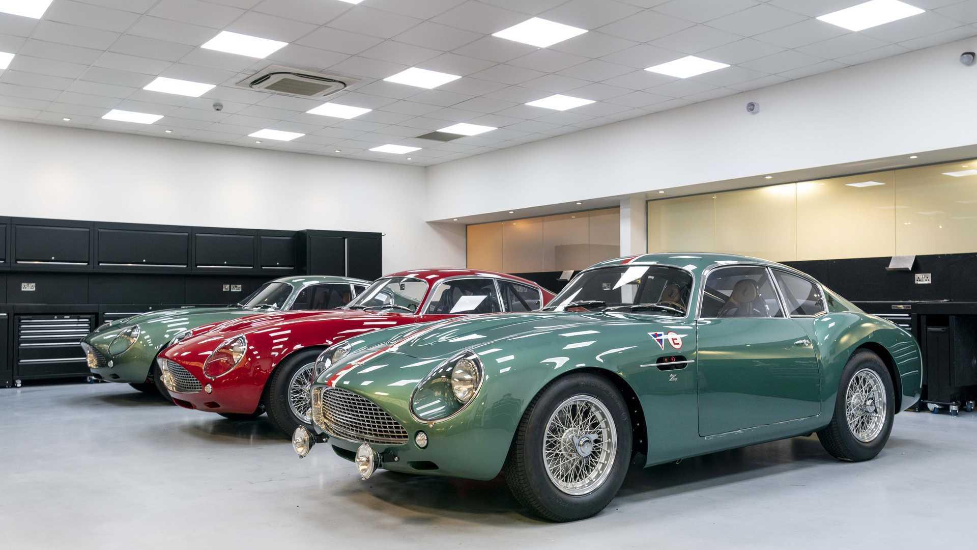 "[""Aston Martin DB4 GT Zagato Deliveries Now In Motion""]"