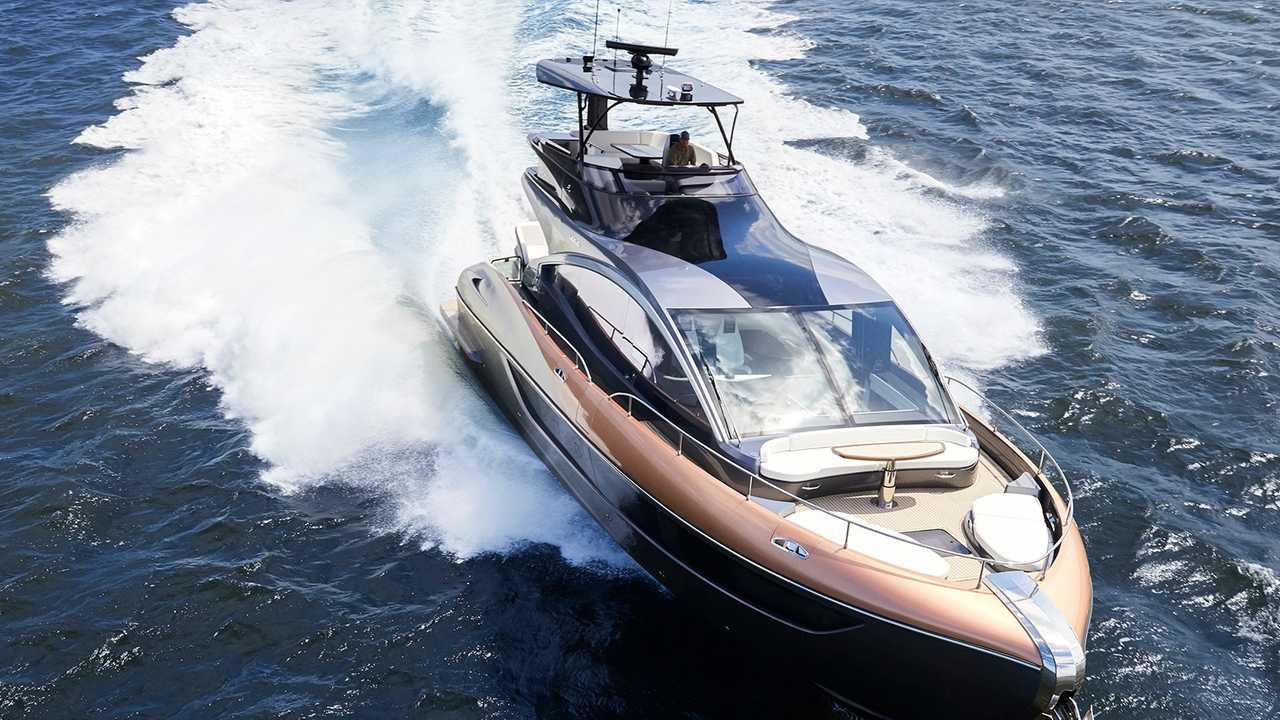 Lexus Ly 650 Yacht Debuts As A 65 Foot Cruiser For One