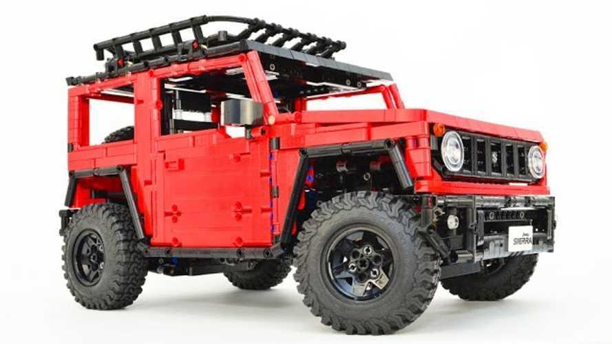 Disfruta de este Suzuki Jimny, creado con piezas de Lego