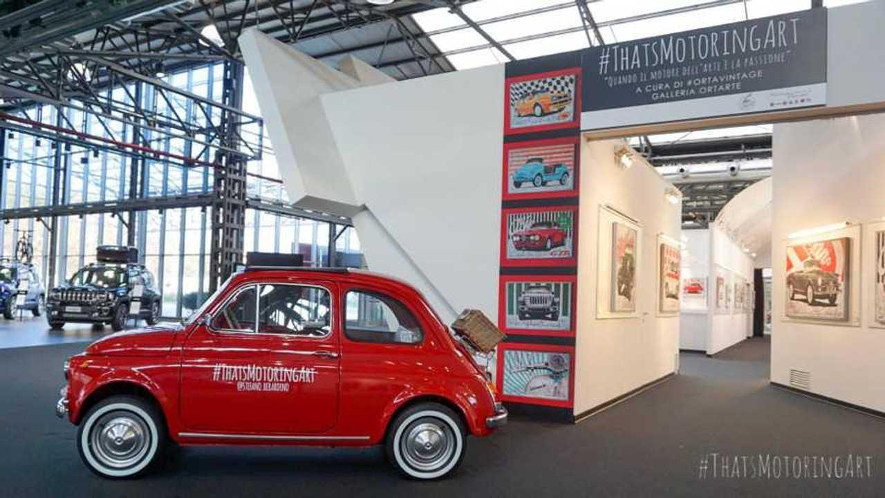 Copertina Fiat 500 protagonista al Meeting