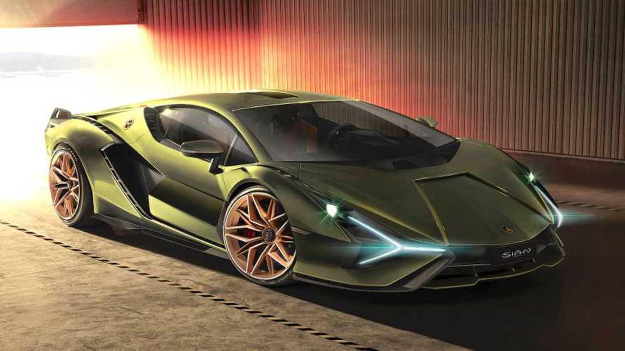 Lamborghini Sian Lead
