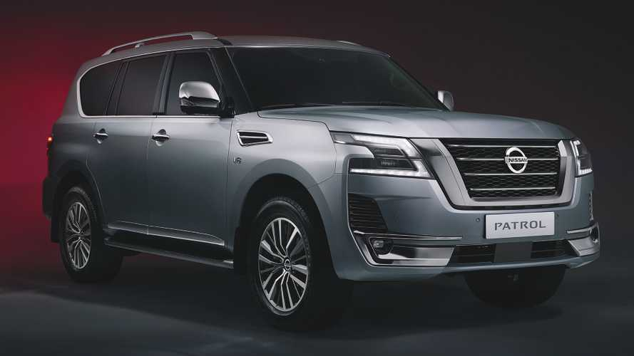 2020 Nissan Patrol Debuts Fresh Look, Two-Screen Infotainment Display