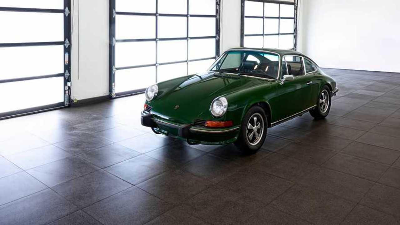 Make \'Em Green With Envy In This 1973 Porsche 911S Survivor
