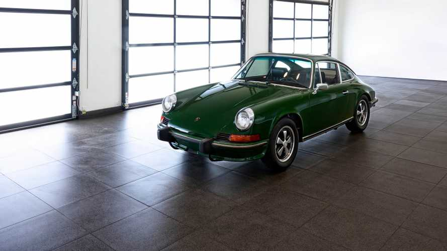 Make 'Em Green With Envy In This 1973 Porsche 911S Survivor