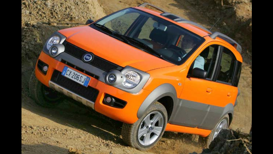 Fiat Panda Cross – Superkompakter und robuster Offroader