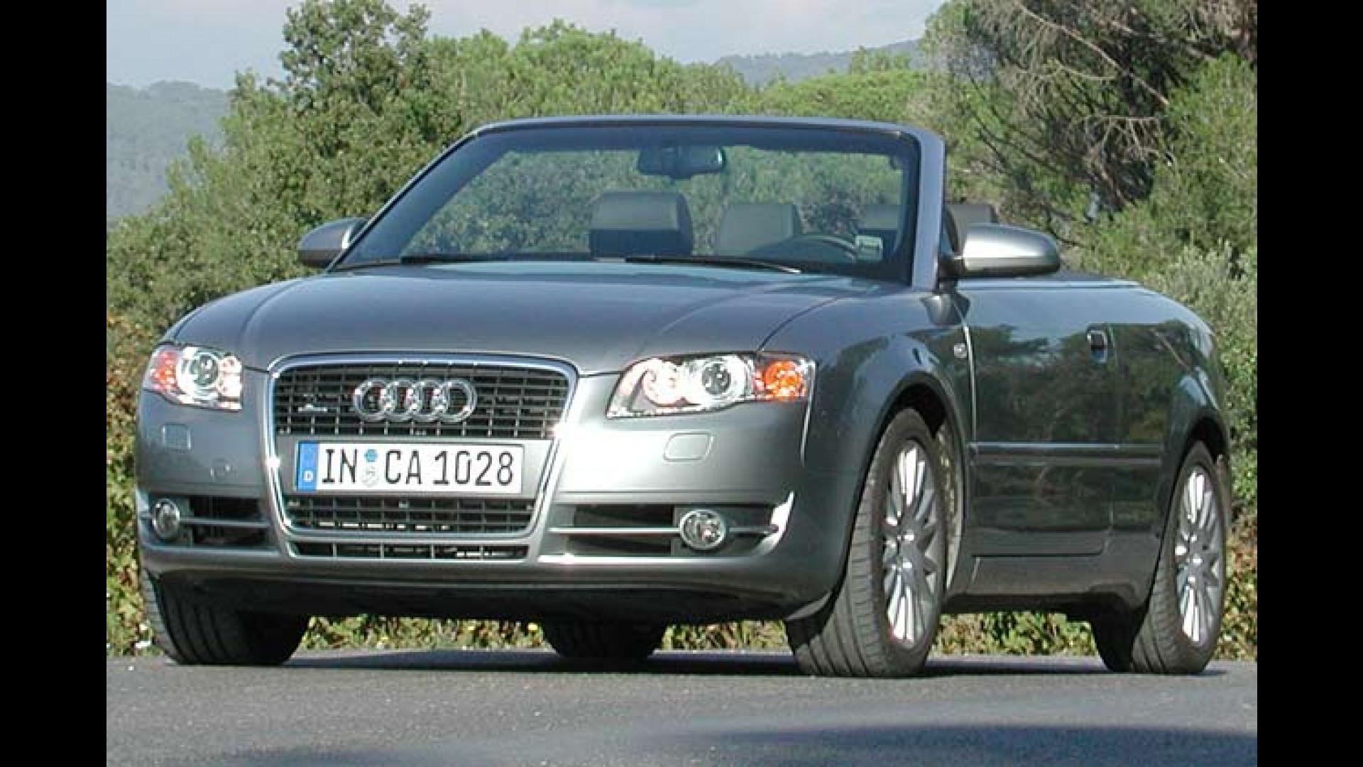 Der Stärkste Offen Diesel Der Welt Audi A4 Cabrio 30 Tdi