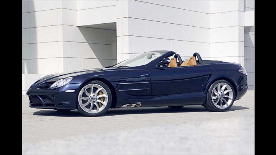 Zu edel fürs Eiscafé: Mercedes-Benz SLR McLaren Roadster