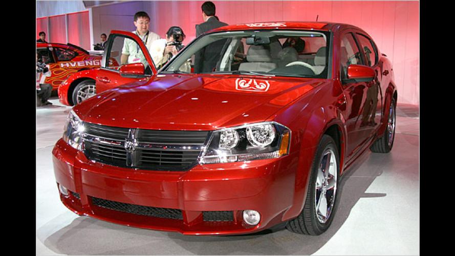 Mittelklasse-Dodge kommt 2008 auch nach Deutschland