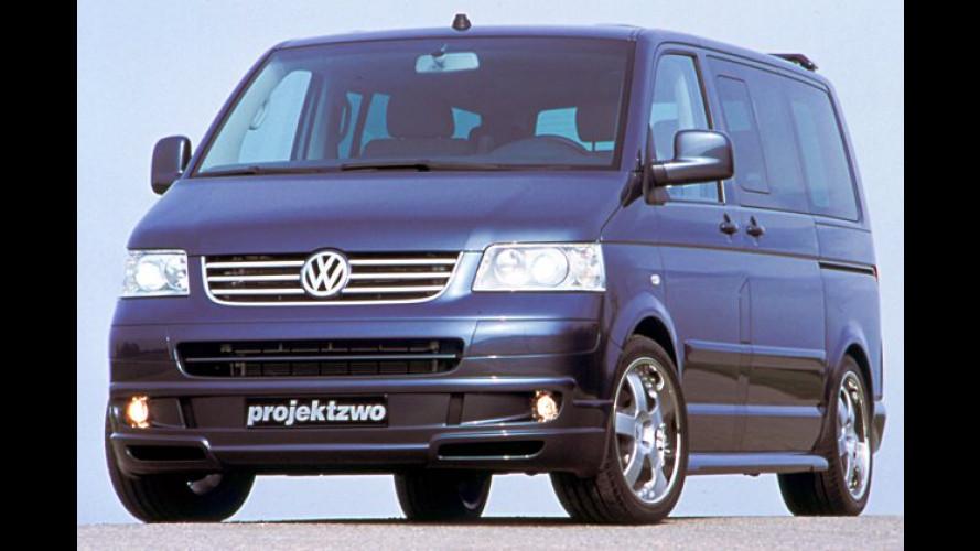 Projektzwo in Essen: Auch ein VW-Bus verträgt Tuning