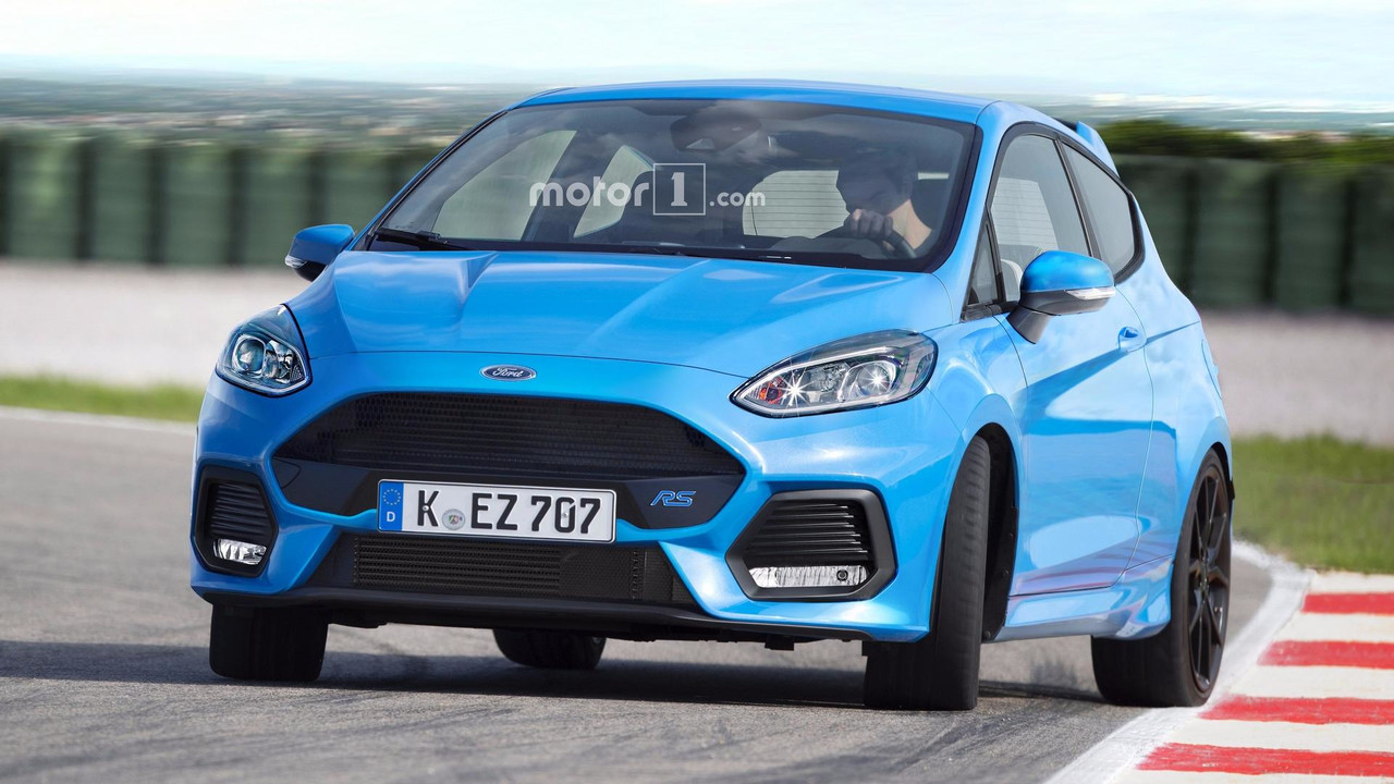 Ford Fiesta RS render