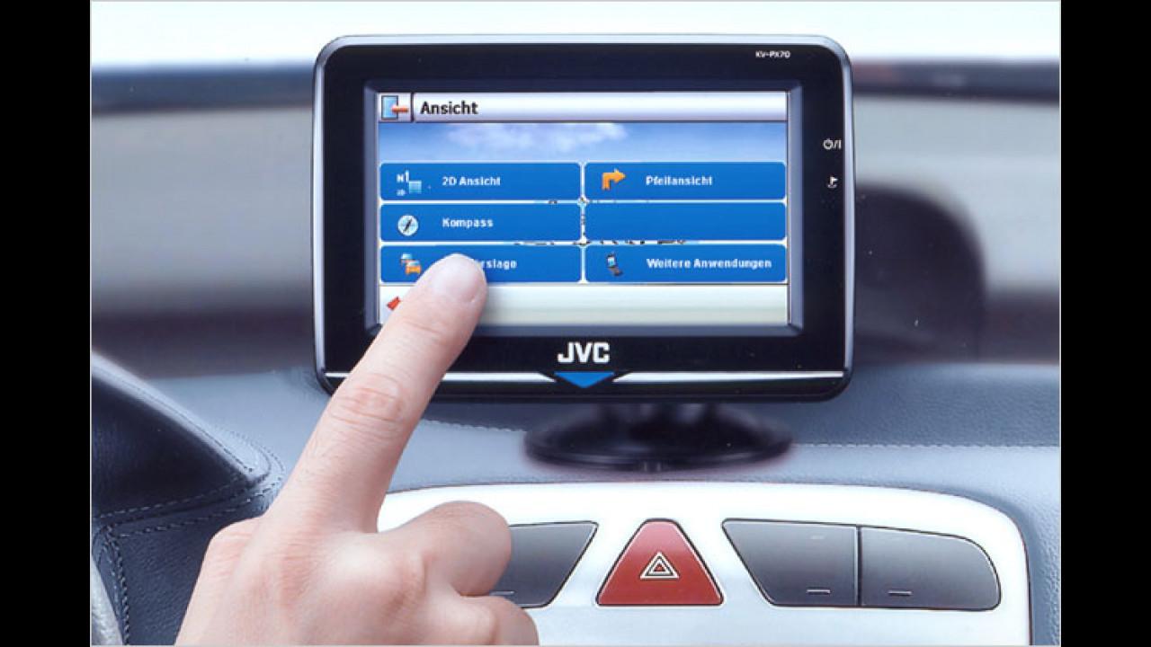 Erstes Mobil-Navi von JVC