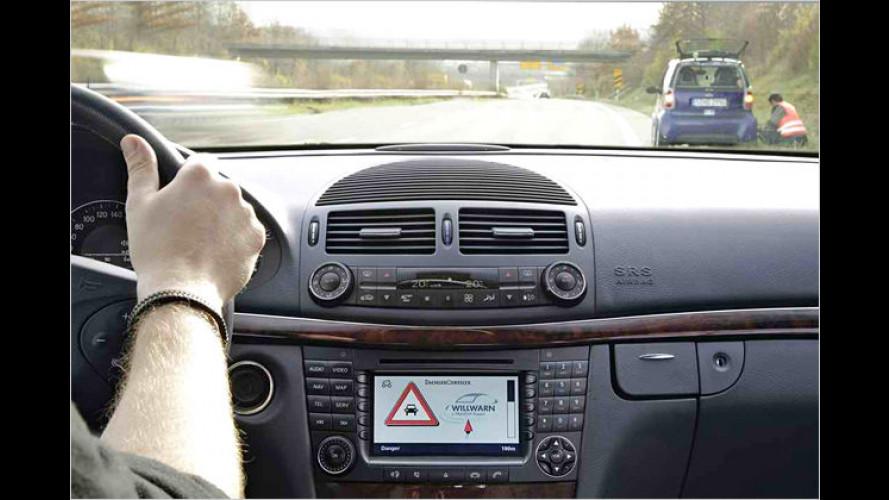 Quasselstrippen: Autos können sich jetzt gegenseitig warnen