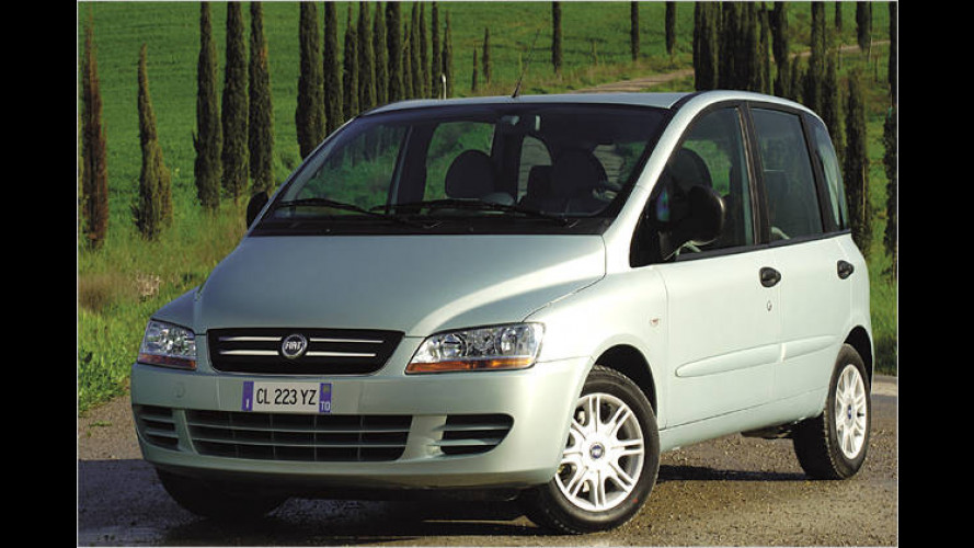 Fiat Multipla (2006). Neue Topvariante Emotion (2006)