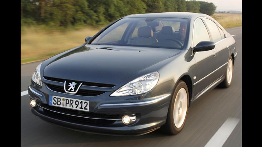 Peugeot 607: Detailänderungen für den König der Löwen
