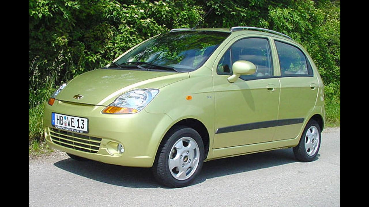 Chevrolet Matiz 0.8 AT (Autogas)