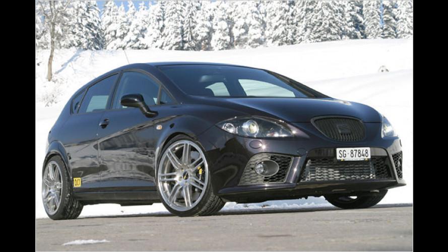 Turbo-Alpenglühn: Leistungskur für Golf GTI und Leon Cupra