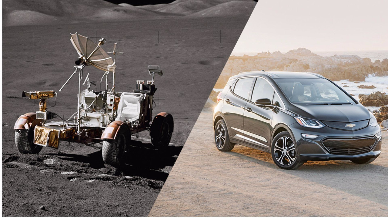 Chevrolet Bolt Vs. Lunar Rover