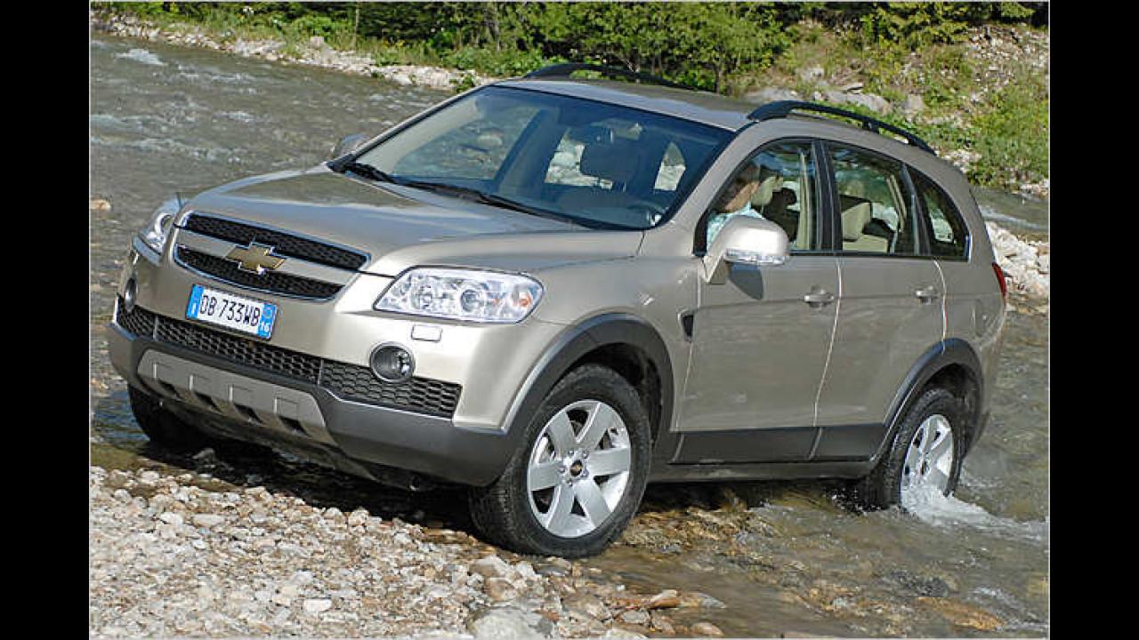 Chevrolet Captiva 2.0 D LS 4WD 5-Sitzer RPF