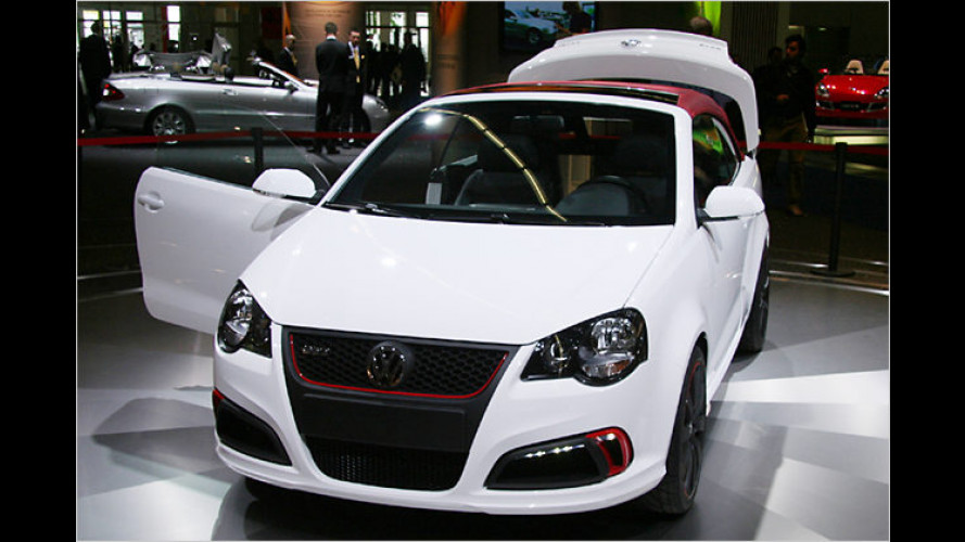 Karmann öffnet den Polo: Schickes Cabrio auf der IAA