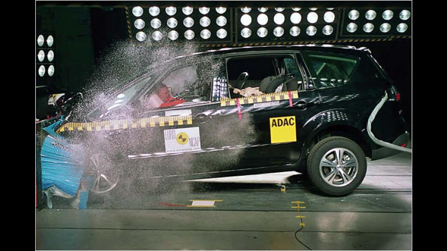 Ford S-Max und Opel Corsa punkten im EuroNCAP-Test