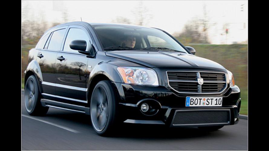 Startech: Neue Optik und mehr Kraft für den Dodge Caliber