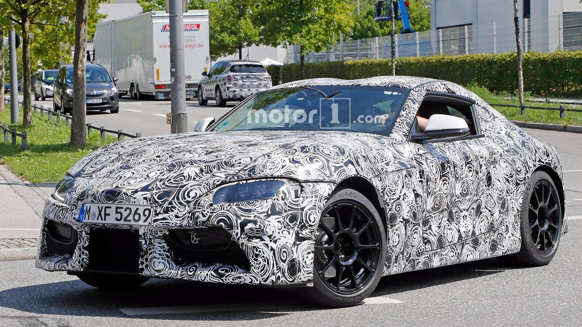 Toyota Supra 2018 >> Leaked Specs Allege 2018 Supra Has 335 Hp 8 Speed Automatic